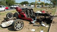Koenigsegg CCX po nehodě