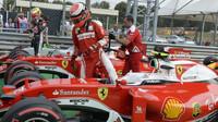 Kimi Räikkönen po kvalifikaci na Monze
