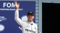 Nico Rosberg po kvalifikaci na Monze