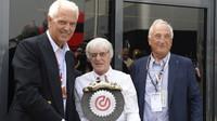 Marco Tronchetti Provera a Bernie Ecclestone v Monze