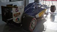 Vůz Sauber C35 - Ferrari po kvalifikaci na Monze