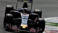 Carlos Sainz v kvalifikaci na Monze
