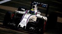 Felipe Massa v kvalifikaci na Monze