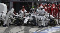 Felipe Massa v závodě na Monze