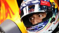 Daniel Ricciardo v kvalifikaci na Monze