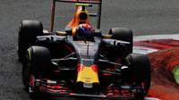 Max Verstappen v kvalifikaci na Monze