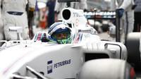 Felipe Massa před závodem na Monze