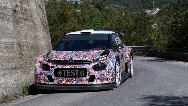Bergkvist novým testovacím jezdcem Citroënu, navíc jej čeká program ve WRC2 - anotačné foto