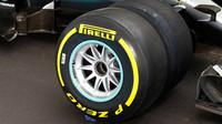 Pneumatiky Pirelli - letošní a prototyp pro rok 2017
