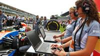 Přípravy týmu Manor na závod na Monze
