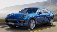 Návrh toho, jak by mohlo vypadat Porsche Cayenne Coupe