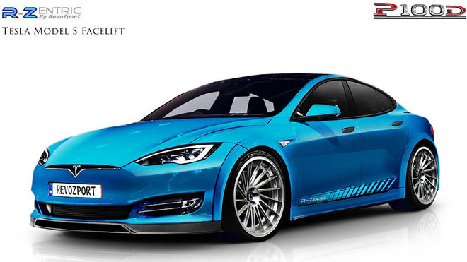 RevoZport představuje tuningový balíček pro Teslu Model S P100D.