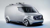 Mercedes-Benz Vision Van je ukázkou budoucnosti lehkých užitkových automobilů.