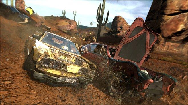 Záběry ze hry FlatOut Ultimate Carnage.