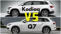 Škoda Kodiaq vs Audi Q7
