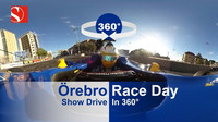 360° VIDEO: Roadshow Sauberu ve Švédsku s Erricsonem za volantem vozu F1