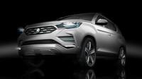 SsangYong LIV-2 je předobrazem nové generace SUV Rexton.