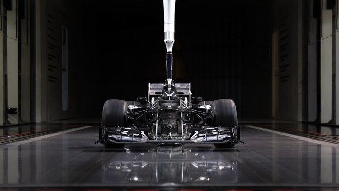 Aerodynamický tunel Mercedesu