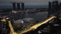 Páteční trénink v Singapuru