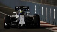 Felipe Massa při pátečním tréninku v Singapuru