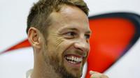 Jenson Button v Singapuru
