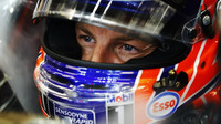 Jenson Button v kvalifikaci v Singapuru
