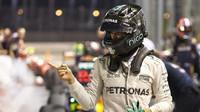 Nico Rosberg po kvalifikaci v Singapuru