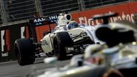 Felipe Massa v kvalifikaci v Singapuru