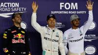 FOTO: Sobota v Singapuru, Rosberg celý den před Hamiltonem