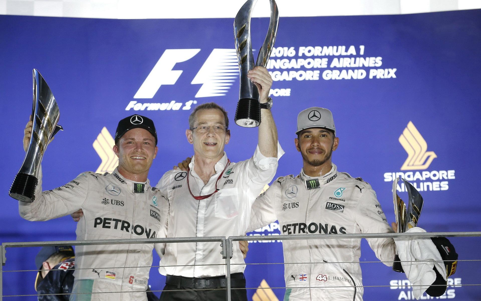Mercedes si může zajistit vítězství v Poháru konstruktérů už v Malajsii - anotační obrázek