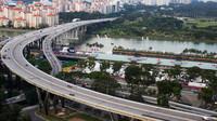 Sobotní trénink v Singapuru