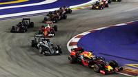 Po startu v závodě v Singapuru
