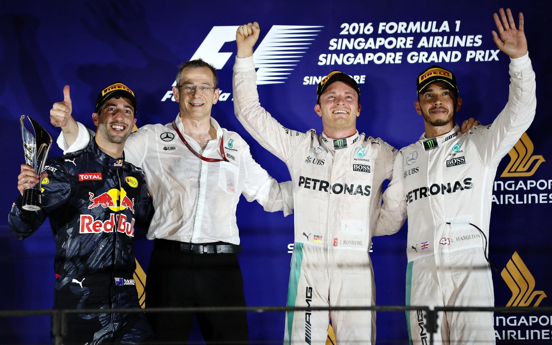 Ricciardo: Titul vyhraje Rosberg, ticho mezi jezdci Mercedesu je divné - anotační obrázek
