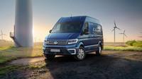 Na silnici budete za brzdu, s Volkswagenem e-Crafter ale ušetříte životní prostředí - anotační foto