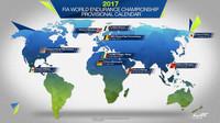 Grafická podoba kalendáře WEC pro sezónu 2017