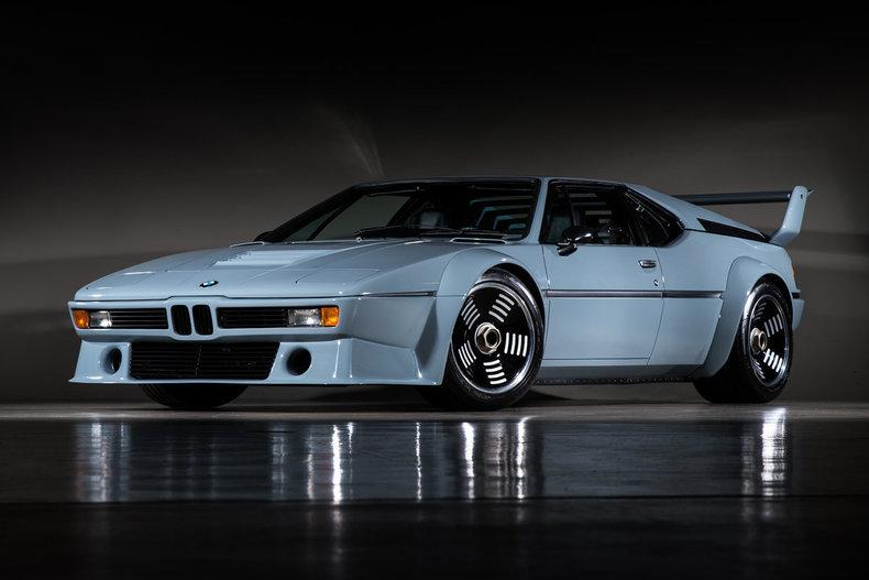Jediné silniční BMW M1 Procar fascinuje. Má pohnutý osud s pohádkovým koncem - anotační foto