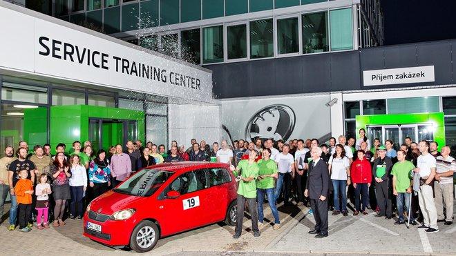 V sobotu 24. září se uskutečnil již 35. ročník soutěže Škoda Economy Run.