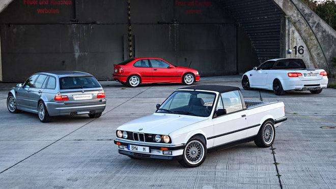 Čtveřice málo známých konceptů na základech BMW M3.