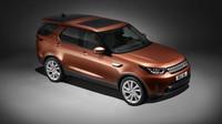 Nový Land Rover Discovery obrousil hrany, je ale větší než X5 a schopnější než předchůdce - anotační foto