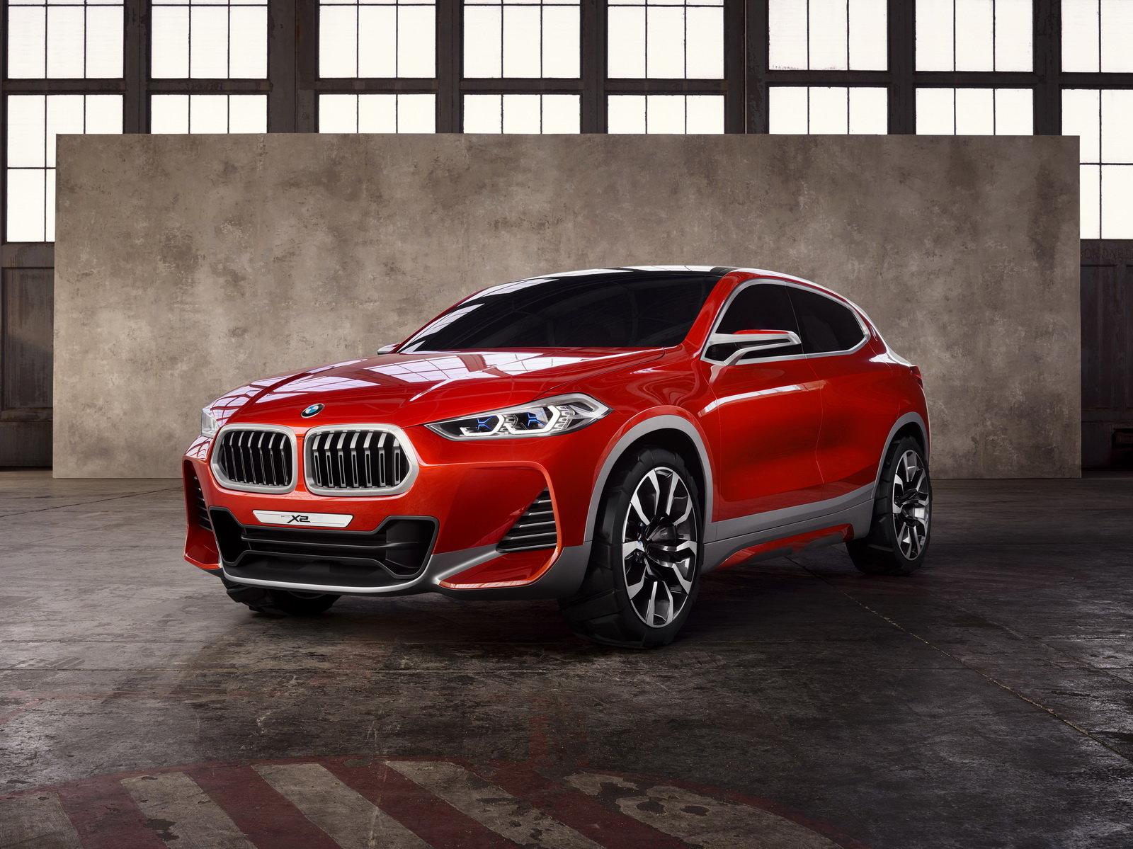 Eso nebo spodek? BMW ukázalo Concept X2, vypadá snad až příliš čínsky - anotační foto