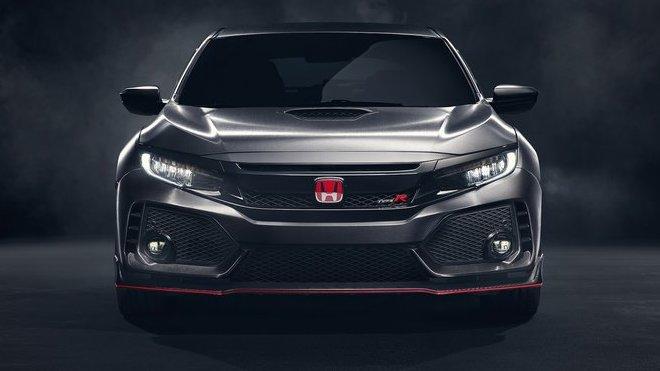 Nová Honda Civic Type R je správně agresivní, do prodeje se dostane příští rok.