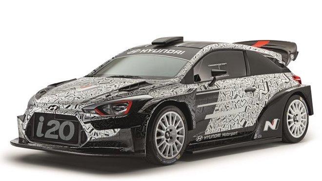 Hyundai i20 WRC dle pravidel pro rok 2017