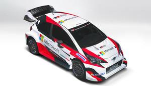 Toyota v Paříži ukázala Yaris WRC a zbarvení + FOTO - anotační foto