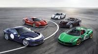 Foto: Ferrari uvádí 70 limitovaných edic najednou! Krása střídá nádheru!