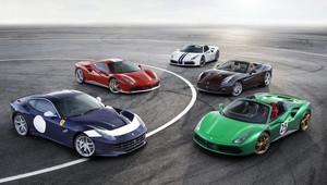 Foto: Ferrari uvádí 70 limitovaných edic najednou! Krása střídá nádheru! - anotační obrázek