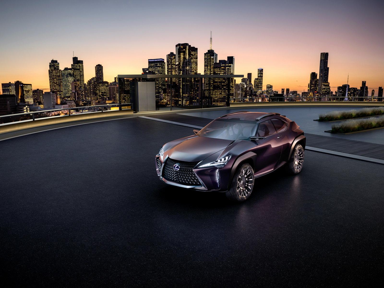 Divoké tvary mají porazit Audi i BMW. Lexus UX se ale nebude líbit každému - anotační foto