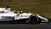 Felipe Massa při pátečním tréninku v Malajsii