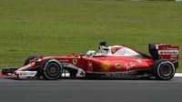 Sebastian Vettel v kvalifikaci v Malajsii