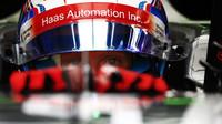 Romain Grosjean v kvalifikaci v Malajsii