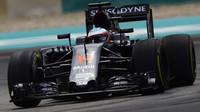 Fernando Alonso v kvalifikaci v Malajsii